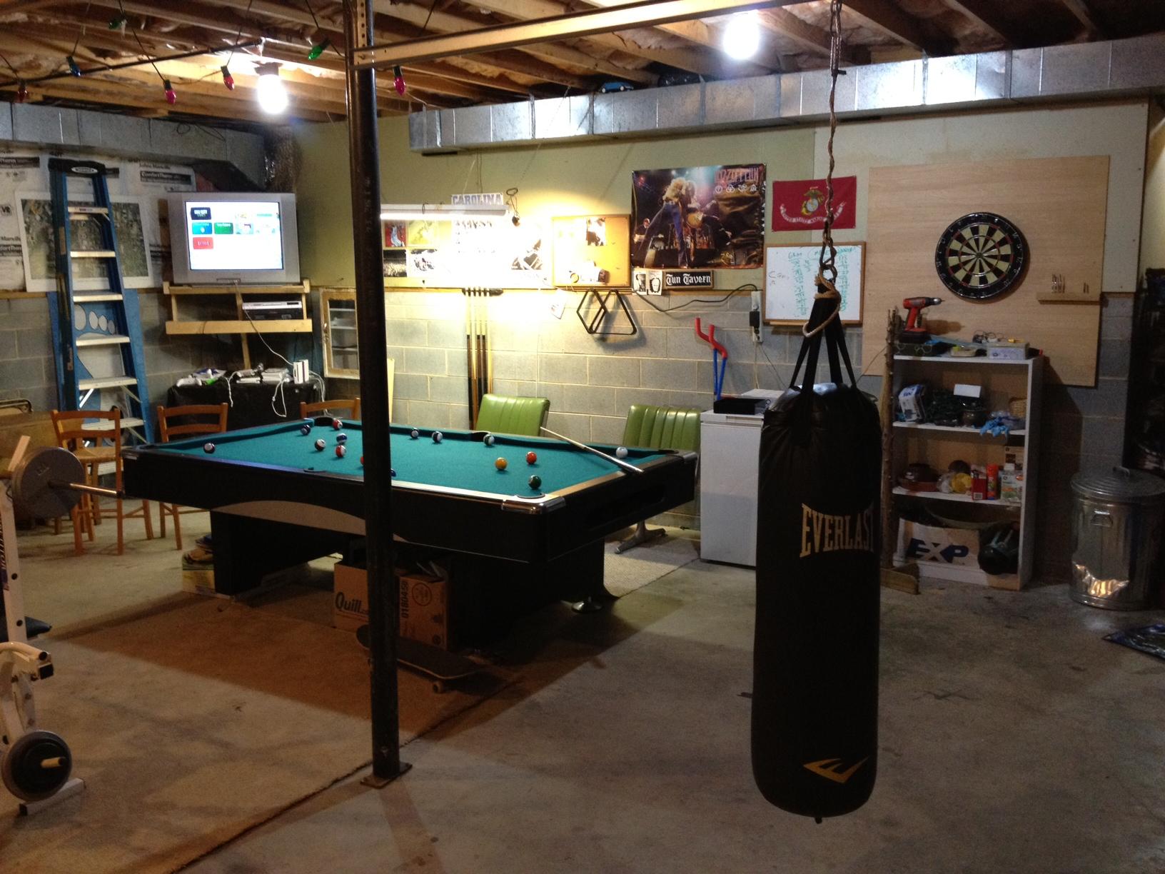 Superb Pool Table Garage Photos Brokeasshome Com